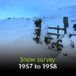 Snow Survey of Great Britain 1957 to 1958