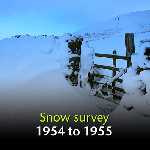 Snow Survey of Great Britain 1954 to 1955